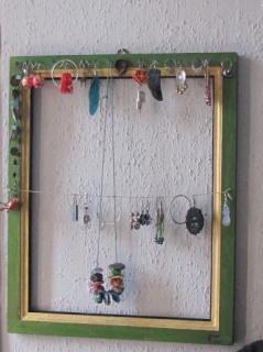 Kulcstartó szekrény házilag